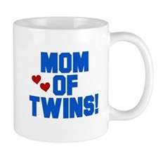 Mom of Twin Boys Mug