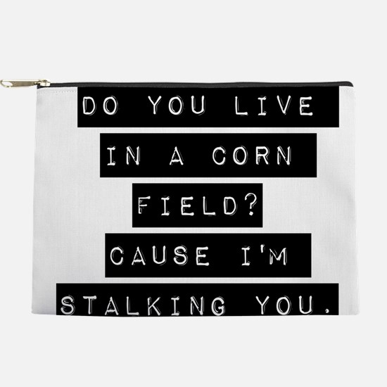Do You Life In A Corn Field Makeup Pouch