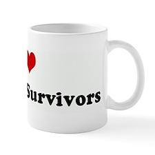 I Love Anorexia Survivors Mug