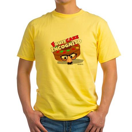 FruitCake Incognito Yellow T-Shirt