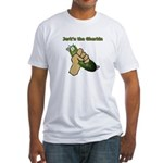 Jerk'n the Gherkin Fitted T-Shirt