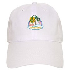 Island Girl Emily Personalized Baseball Cap