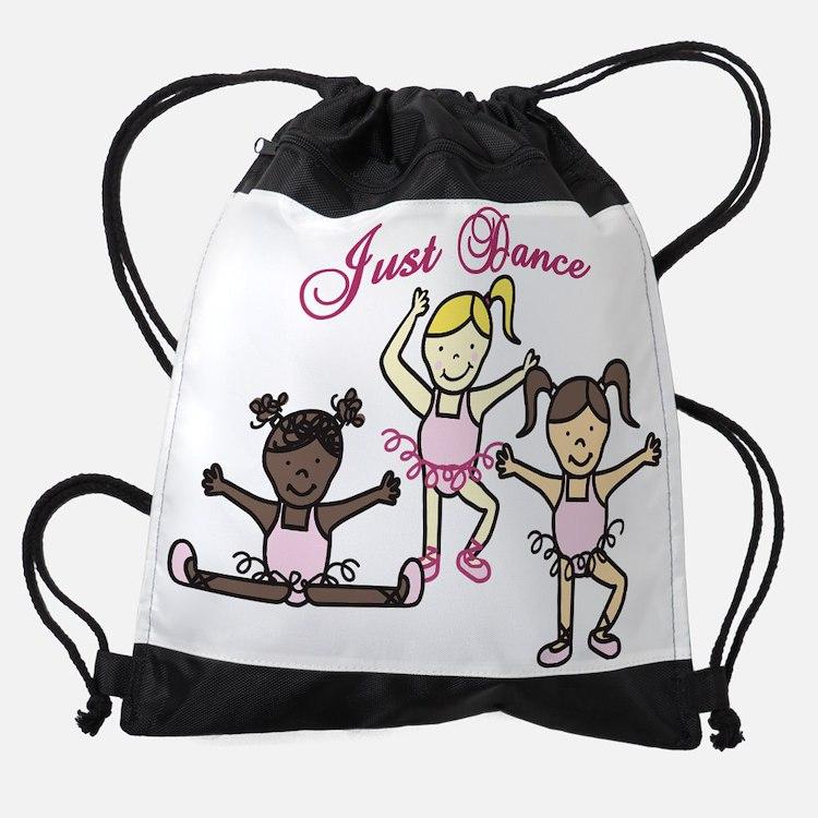 Just Dance Drawstring Bag