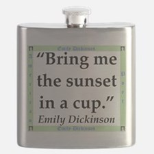 Bring Me The Sunset - Dickinson Flask