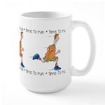 Time to run Large Mug