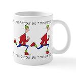 Run for your life Mug