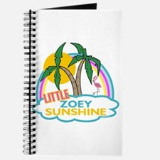 Island Girl Zoey Personalized Journal