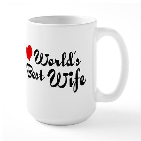 World's Best Wife Large Mug
