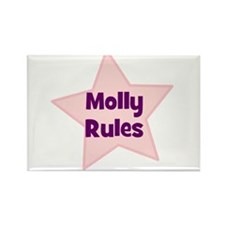 Molly Rules Rectangle Magnet