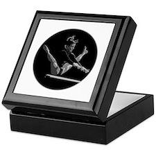 Gymnastics Circle Design Keepsake Box