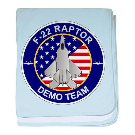 F-22 Raptor Baby Blanket