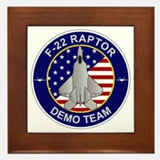 F-22 Raptor Framed Tile
