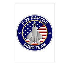 F-22 Raptor Postcards (Package of 8)