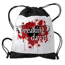 BreakingDawnSplatterOrnament-final. Drawstring Bag