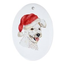 Christmas Pumi Oval Ornament