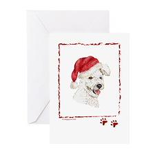 Happy Holidays Christmas Pumi Greeting Cards
