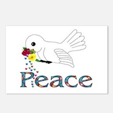 Peace Bird Postcards (Package of 8)