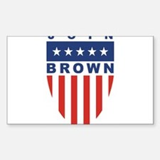 Join Sherrod Brown Rectangle Decal