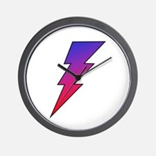 The Lightning Bolt 2 Shop Wall Clock