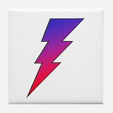 The Lightning Bolt 2 Shop Tile Coaster