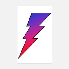 The Lightning Bolt 2 Shop Rectangle Decal
