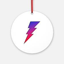The Lightning Bolt 2 Shop Ornament (Round)