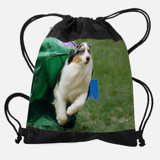 07_Zeke.jpg Drawstring Bag