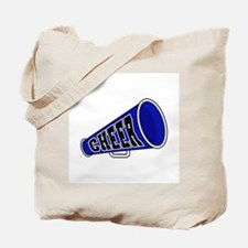 Blue Cheer Megaphone Tote Bag