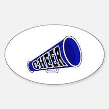 Blue Cheer Megaphone Oval Decal