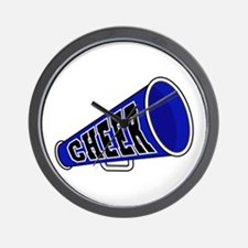 Blue Cheer Megaphone Wall Clock