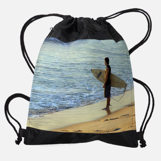 Calender Surfing 3.png Drawstring Bag