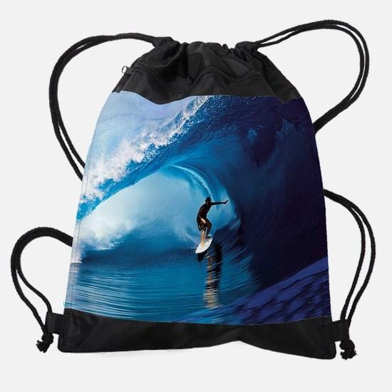 Calender Surfing 6.png Drawstring Bag