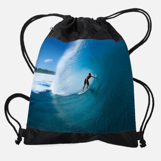 Calender Surfing 9.png Drawstring Bag