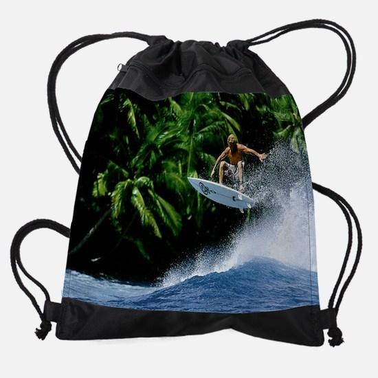 Calender Surfing 11.png Drawstring Bag