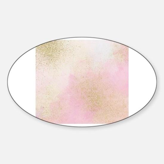 Funny Glimmer Sticker (Oval)