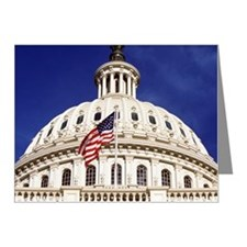 US capitol building, Washing Note Cards (Pk of 10)