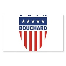 Join Mike Bouchard Rectangle Decal