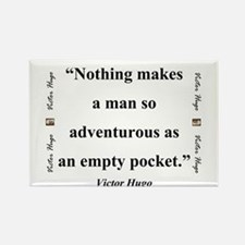 Nothing Makes A Man So Adventurous - Hugo Magnets