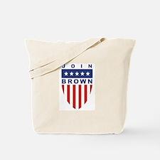 Join Matt Brown Tote Bag