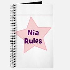 Nia Rules Journal