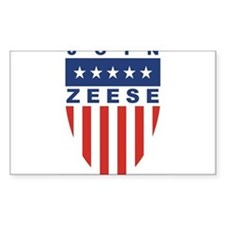 Join Kevin Zeese Rectangle Decal