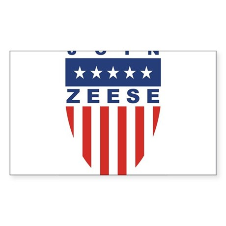 Join Kevin Zeese Rectangle Sticker