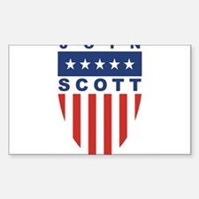 Join Kevin Scott Rectangle Decal