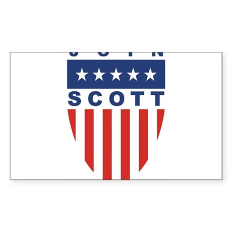 Join Kevin Scott Rectangle Sticker