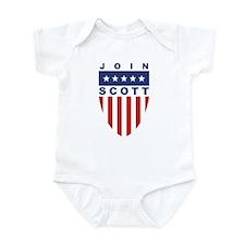 Join Kevin Scott Infant Bodysuit