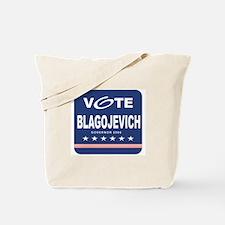 Vote Rod Blagojevich Tote Bag