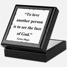 To Love Another Person - Hugo Keepsake Box