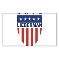 Join Joe Lieberman Rectangle Decal