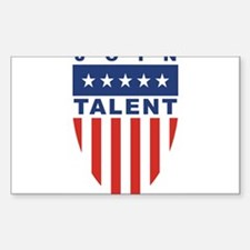 Join Jim Talent Rectangle Decal