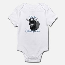 Goat Cutest Kid Ever Infant Bodysuit